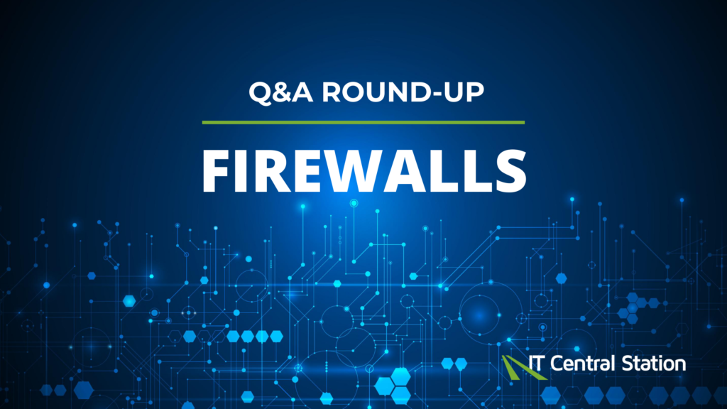 Questions about Firewalls