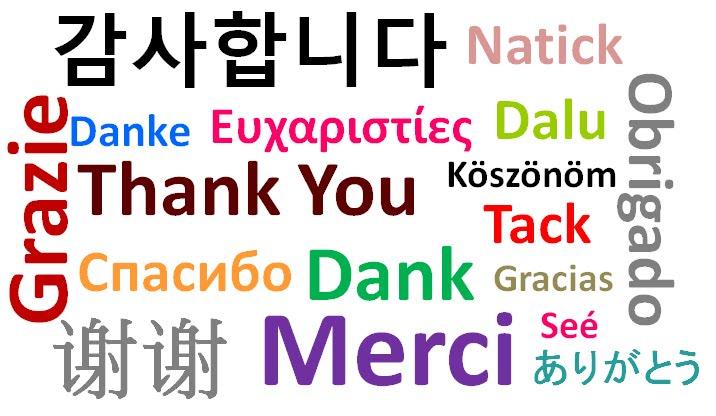 Contributors Thank You